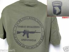 101ST AIRBORNE T-SHIRT/ AFGHANISTAN COMBAT OPS T-SHIRT