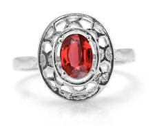 925 Sterling Silver Ring with Red Garnet Natural Gemstone handcrafted eBay