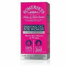 SOMERSETS SHAVING OIL FOR WOMEN EXTRA SENSITIVE NO CHEMICALS NO BURNS 15ml -35ml
