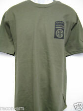 82ND AIRBORNE RANGER T-SHIRT/ front print only/ ARMY/ MILITARY/ NEW