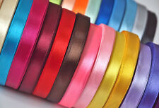 Mixed Colour Satin Ribbon Bundle 20Colours 20mtrs 6mm 12mm 25mm 38mm 50mm Craft