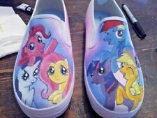 Custom Painted KIDS shoes - hand painted Generic shoes