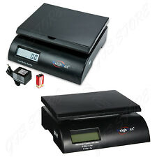 35/75 Lb. Digital Postal Shipping Scale Weight Postage Count Battery AC Adapter