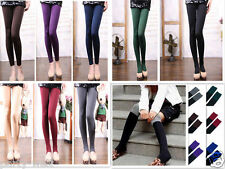 Sexy Women's Winter Thick Warm Soft Pantyhose Footless Stirrup Stockings Gift