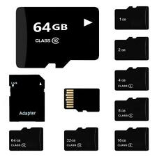 TF SD Card 32/16/8/4/2GB TF Flash Memory Card With Adapter Class 4-10 CZ &Y9