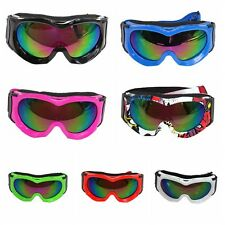 NEW Kids Tinted motocross motorbike goggles anti-fog UV protection MX dirt Bike