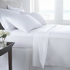 UK Home Collection All Size 100% Egyptian Cotton 1000 TC White Solid