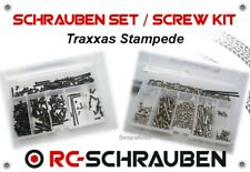 Screw Set for the Traxxas Stampede - Stainless Steel & Steel - ISK & IS