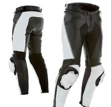 MOTORCYCLE MEN'S LEATHER TROUSER MOTORBIKE PANT MOTORCYCLE LEATHER TROUSER S-4XL