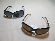 5 Pair Women's Foster Grant Fashion Sunglasses Black OR Brown Leopard NWT