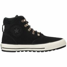Converse Chuck Taylor All Star Ember Boot Hi Black Egret Womens Suede Trainers