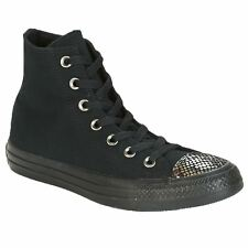 Converse Chuck Taylor All Star Hi Black Womens High Top Canvas Trainers
