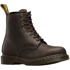 Dr.Martens 1460 8-Eyelet Gaucho Mens Leather Ankle Lace-Up Combat Boots