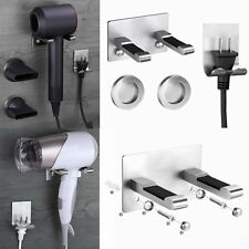 Wall Mount Stainless Steel Bracket Holder Hook for Dyson Supersonic Hair Dryer