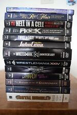WWE documentaries -- Lot of 13 PPV and anthologies