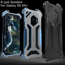 R-Just GUNDAM Armor Metal Shockproof Case Cover For Samsung Galaxy S9 S9 Plus