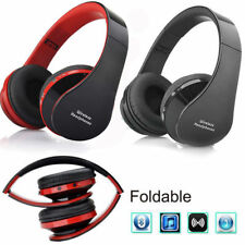 Foldable Wireless Bluetooth Stereo Headset Headphones Mic for iPhone Samsung Pad