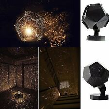 Romatic Cosmos Moon Star Master LED Starry Night Sky Light Lamp For Baby Kids QZ