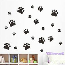 Multi-color Printed Walking Paw Decal Home Art Decor Wall Stickers