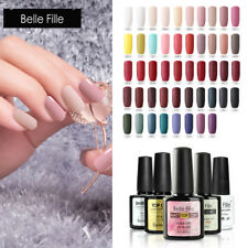 Nail Varnish Matte UV Gel Soak Off Gel Polish Topcoat Gel Nail Art BELLE FILLE