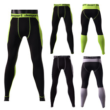 Hot Men Skin Tights Running Workout Sports Compression Pants Base Layer Trousers