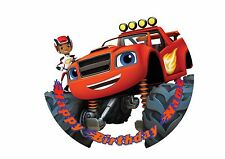 Blaze and the Monster Machines Rice / Wafer Paper or Icing Cake Topper 20cm #3