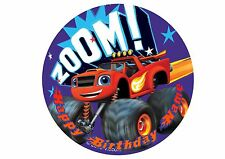 Blaze and the Monster Machines Rice / Wafer Paper or Icing Cake Topper 20cm #9