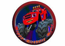 Blaze and the Monster Machines Rice / Wafer Paper or Icing Cake Topper 20cm #10
