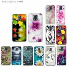 3D Printed Silicone Gel Soft TPU Cover For Samsung Galaxy S5 I9600 SM-S5