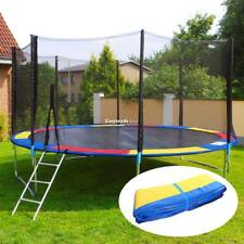 10/12/14/15FT Trampoline Safety Pad Spring Round Frame Pad Cover Replacement