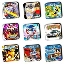 Sega Dreamcast Games - Box Art - Wooden Coasters - Gaming - Gifts - 4 FOR 3