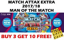 MATCH ATTAX EXTRA 2017/18 MAN OF THE MATCH CHOOSE YOUR CARDS!