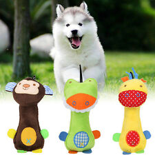 Funny Pet Dog Cat Toys Pet Puppy Chew Squeaker Squeaky Plush Sound Cartoon