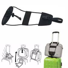 Adjustable Belt Add A Bag Strap Travel Luggage Carry On Strap Bungee Suitcase