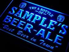 Personalized Beer Ale II LED Neon Light Sign