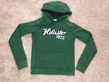 HOLLISTER S BOYS THICK & COZY GREEN SWEATSHIRT PULLOVER JACKET  EXCELLENT! >>>>>