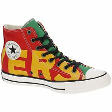 Converse Chuck Taylor All Star Hi Enamel Red Yellow Men Canvas High-top Trainers