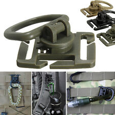 2/5Pcs Molle Strap Backpack Bag Webbing Connecting Buckle Clip EDC Outdoor ToolF