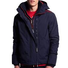 Superdry Mens Windcheater Jacket Nautical Navy Rebel  Red Ship Worldwide