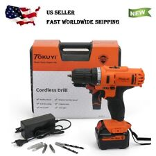 Premium 12V / 18V Li-Ion Cordless Drill Driver Kit with 1500mAh Battery Charger