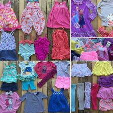 Lot 30 pcs Toddler Girls Clothes Tops Dress Disney Old Navy Carters OshKosh 3T 3