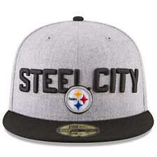 2018 NFL Draft On-Stage Pittsburgh Steelers Heather Gray 59Fifty Fitted Cap