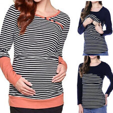 New Breastfeeding Clothes Tops Maternity Nursing Tops T-shirt For Women Pregnant