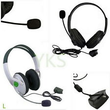 Live Big Headset Headphone With Microphone for XBOX 360 Xbox360 Slim NEW KP