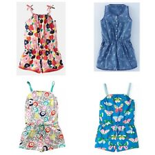Ex Mini Boden Girls Soft Jersey Pretty Playsuits 1-16 Years