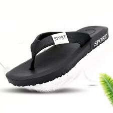 Plug Size Men Summer Flip Flops Slippers Comfortable Summer Casual Shoes XP