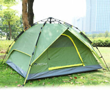 Waterproof 3-4 Person Double layer Automatic Instant Outdoor Camping Tent EI