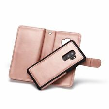 Flip Wallet PU Leather Case Cover Card Slots For Samsung Galaxy S9 Plus