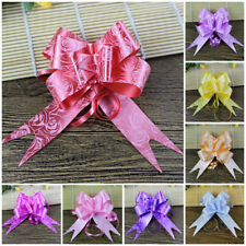 10pcs Yarn Pull Bows Ribbons Wedding Party Flower Decoration Gift Wraps