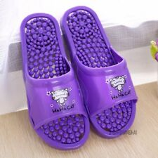 Women Foot Massage Slipper Anti Slip Sandal Bathroom Shoes Flip Flop Hollow New